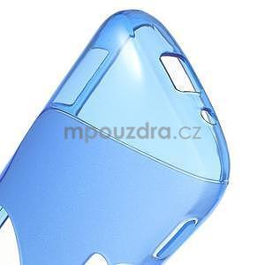 Modrý s-line gélový kryt na Samsung Galaxy K Zoom C115 - 5