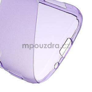 Fialový s-line gélový kryt na Samsung Galaxy K Zoom C115 - 5