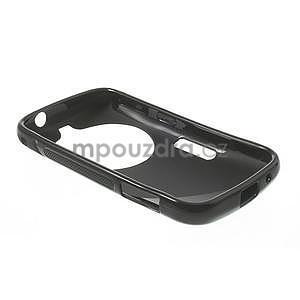 Čierny s-line gélový kryt pre Samsung Galaxy K Zoom C115 - 5