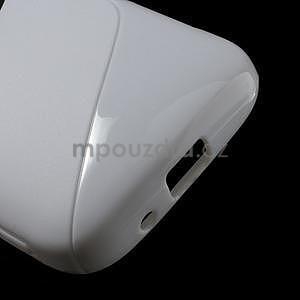Biely s-line gélový kryt na Samsung Galaxy K Zoom C115 - 5