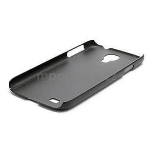 Plastové poudro pre Samsung Galaxy S4 - čierne - 5