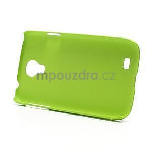 Plastové poudro na Samsung Galaxy S4 - zelené - 5
