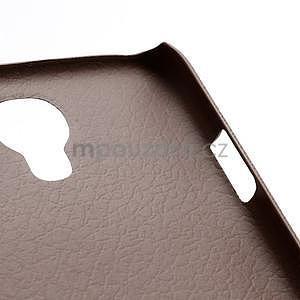 Plastové poudro pre Samsung Galaxy S4 - hnedé - 5