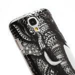 Plastové poudro na Samsung Galaxy S4 - thajský slon - 5/5