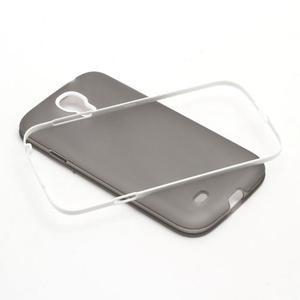 Gélové puzdro 2v1 pre Samsung Galaxy S4 - šedé - 5