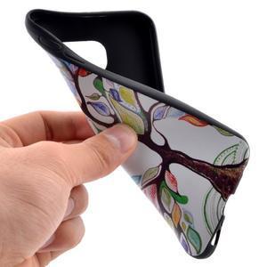 Jells gelový obal na Samsung Galaxy S7 - malovaný strom - 5