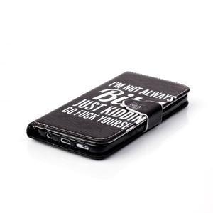 Cross peňaženkové puzdro pre Samsung Galaxy S7 - bitch - 5