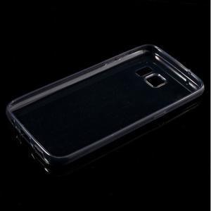 Ultratenký gélový obal pre mobil Samsung Galaxy S7 - šedý - 5