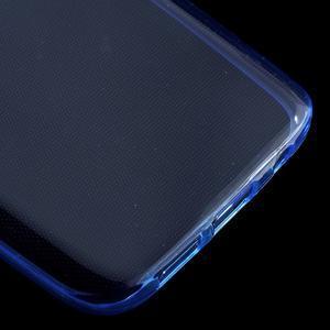 Ultratenký gélový obal pre mobil Samsung Galaxy S7 - modrý - 5