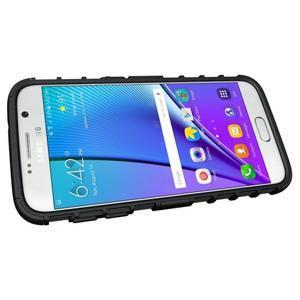 Outdoor odolný obal pre mobil Samsung Galaxy S7 - čierny - 5