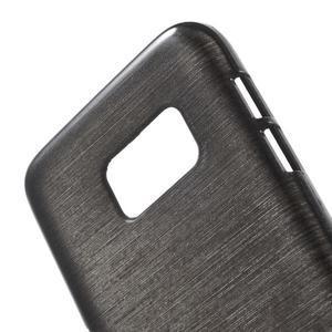 Brush gelový obal na mobil Samsung Galaxy S7 - černý - 5