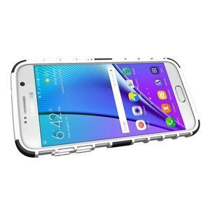Outdoor odolný obal pre mobil Samsung Galaxy S7 - bielý - 5
