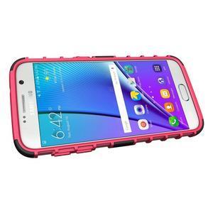 Outdoor odolný obal pre mobil Samsung Galaxy S7 - rose - 5