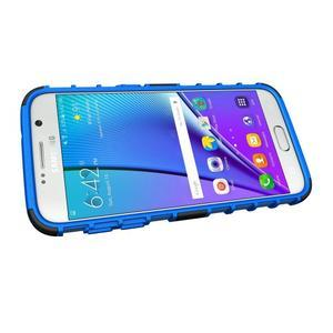 Outdoor odolný obal pre mobil Samsung Galaxy S7 - modrý - 5