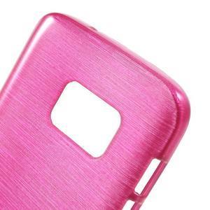 Brush gelový obal na mobil Samsung Galaxy S7 - rose - 5