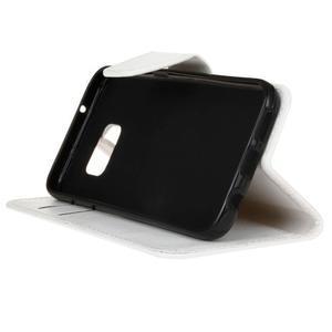Stand peňaženkové puzdro pre Samsung Galaxy S7 - biele - 5