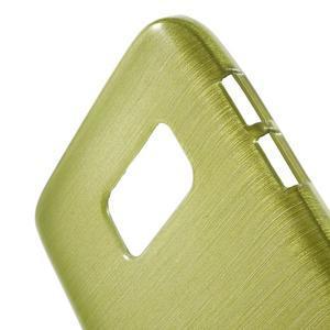 Brush gelový obal na mobil Samsung Galaxy S7 - zelený - 5