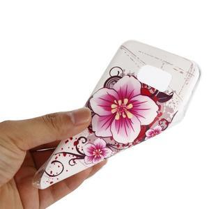 Pictu gelový obal na mobil Samsung Galaxy S7 - květiny - 5