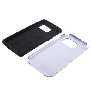 Odolný dvoudílný obal na Samsung Galaxy S7 edge - tmavěmodrý - 5