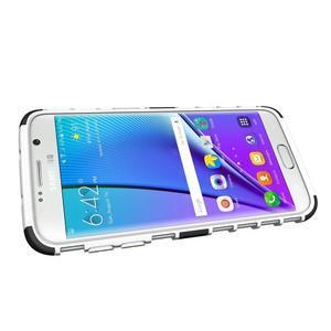Odolný outdoor kryt na Samsung Galaxy S7 edge - bílý - 5