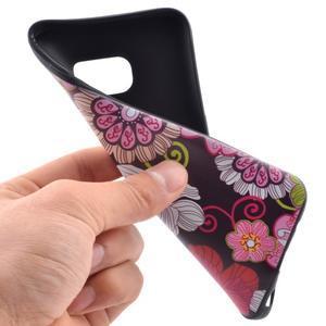Backy gelový obal na Samsung Galaxy S7 edge - květiny - 5