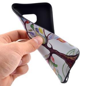 Backy gelový obal na Samsung Galaxy S7 edge - malovaný strom - 5