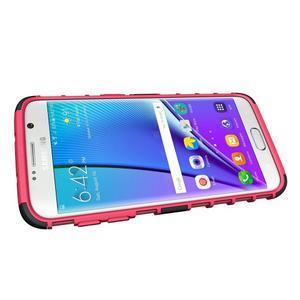 Odolný outdoor kryt na Samsung Galaxy S7 edge - rose - 5