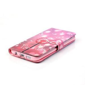 Cross peňaženkové puzdro pre Samsung Galaxy S7 edge - púpava - 5