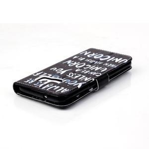 Cross peněženkové pouzdro na Samsung Galaxy S7 edge - unicorn - 5