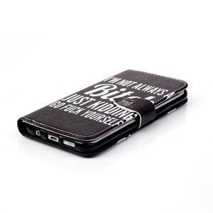 Cross peňaženkové puzdro pre Samsung Galaxy S7 edge - bitch - 5