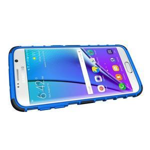 Odolný outdoor kryt pre Samsung Galaxy S7 edge - modrý - 5
