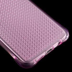 Glitter gélový obal pre Samsung Galaxy S7 edge - rose - 5