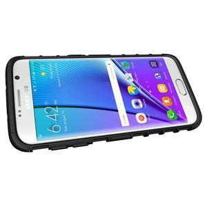 Odolný outdoor kryt na Samsung Galaxy S7 edge - černý - 5