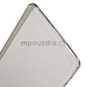 Sivý ultra tenký obal pre Sony Xperia M4 Aqua - 5