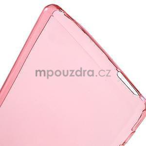 Červený ultra tenký obal na Sony Xperia M4 Aqua - 5