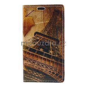 Peňaženkové puzdro pre Sony Xperia M4 Aqua - Eiffel - 5