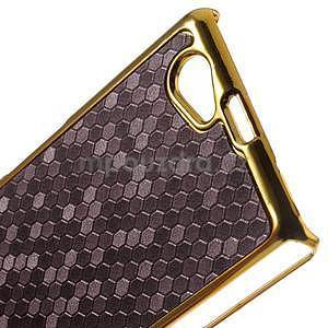 Elegantný obal pre mobil Sony Xperia Z1 Compact - fialový - 5