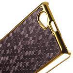 Elegantný obal pre mobil Sony Xperia Z1 Compact - fialový - 5/5
