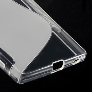 Sline gélový kryt pre mobil Sony Xperia Z5 - transparentné - 5
