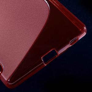 Sline gélový kryt pre mobil Sony Xperia Z5 - červený - 5
