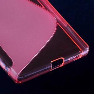 Sline gélový kryt pre mobil Sony Xperia Z5 - rose - 5