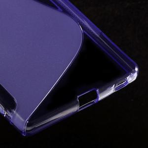 Sline gelový kryt na mobil Sony Xperia Z5 - fialový - 5