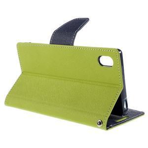 Mercur Peňaženkové puzdro pre Sony Xperia Z5 - zelené - 5