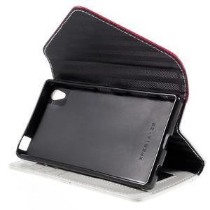 Stylové peněženkové pouzdro Sony Xperia Z5 - rose - 5