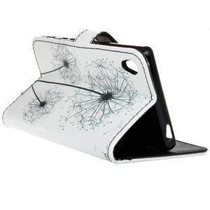 Koženkové pouzdro na mobil Sony Xperia Z5 - pampelišky - 5