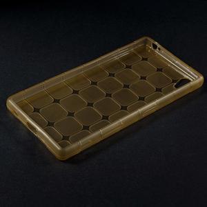 Square gélový obal pre Sony Xperia Z5 - zlatý - 5
