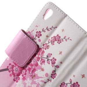 Lovely puzdro pre mobil Sony Xperia Z5 - kvitnúce vetvička - 5