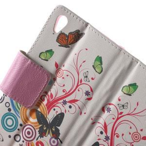 Lovely puzdro pre mobil Sony Xperia Z5 - kúzelní motýľe - 5