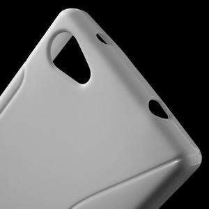 S-line gélový obal pre Sony Xperia Z5 Compact - biely - 5