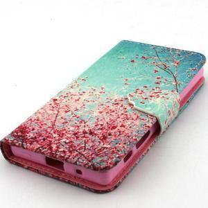 Kelly puzdro pre mobil Sony Xperia Z5 Compact - kvitnúce strom - 5